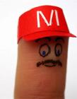手指创意画,手指创意图
