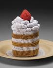 创意针织甜点图片