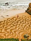 唯美海滩艺术