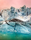 冰川融冰图片