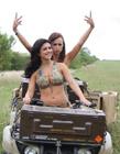 风情无限的美国女兵