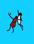 火柴人篮球gif