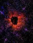 瑞士摄影师仿造宇宙星云