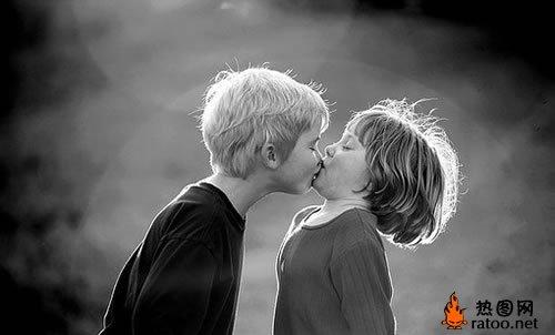 欧美小孩情侣头像-儿童图片-热图网