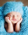 新生儿笑脸