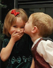 外国小孩情侣图片