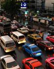 世界各地堵车的图片