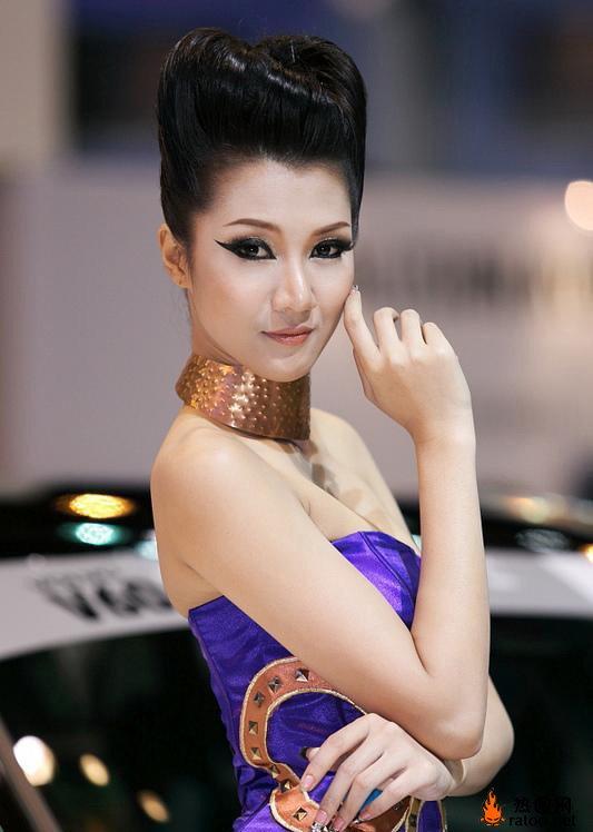 泰国美女车模