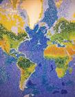 玻璃粒世界地图