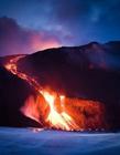 火山爆发图片