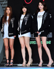 韩国美女车模助阵拳击庆典