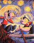 卡通人物乱入世界名画
