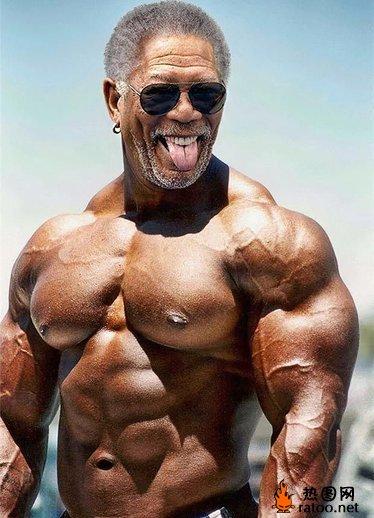 明星ps变身肌肉男 恶搞图片 热图网