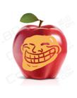 苹果上的PS恶搞