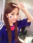 AKB48板野友美打台球gif动态图片