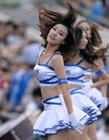 韩国职棒啦啦队热辣演出