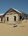 纳米比亚沙漠中的鬼城卡曼斯科