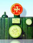 创意食物微型雕塑
