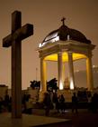 夜游秘鲁利马恐怖墓地