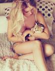 猫咪和性感美女