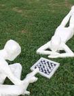 胶带创作各种雕塑
