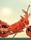 龙虾做的摩托车