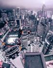 摄影师俯拍香港