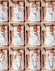 延时摄影拍不同人睡姿图片