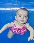 可爱宝宝水下摄影