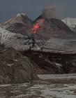 火山喷发的图片