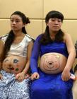 重庆孕妇妈妈肚皮彩绘大赛