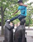 搞笑雕像的那些趣事