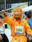 2014年香港马拉松选手搞笑造型