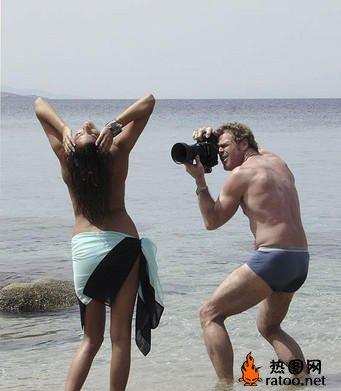 摄影师曝光《花花公子》杂志幕后拍摄照片
