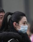 北京电影学院美女考生防雾霾戴口罩参加复试