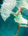 有趣的儿童水下摄影图片