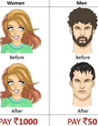 男人和女人的区别图