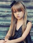 俄罗斯9岁小萝莉模特克里斯汀娜.皮曼诺娃
