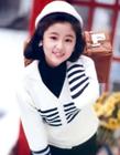 台湾女明星少女时期年轻清纯照