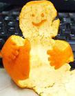橘子图形创意