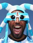 阿根廷球迷另类搞怪装扮