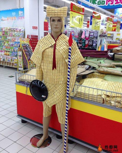 超市堆头香皂陈列图片_装修图库图片