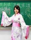 北京林业大学女学生拍汉服毕业照