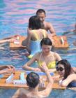 重庆市民水上玩麻将,水上麻将