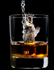 日本3D唯美杯中冰雕图片
