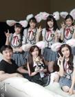 王思聪和SNH48全体成员宣传《TERA神谕之战》