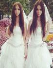 俄罗斯阴阳人夫妇高调结婚