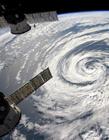 太空航拍地球云层摄影照