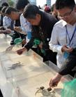 洪泽湖大闸蟹节,江苏洪泽县举行螃蟹运动会