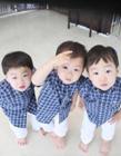 韩国三胞胎,宋一国三胞胎儿子